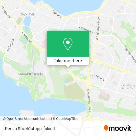 Perlan Strætóstopp map