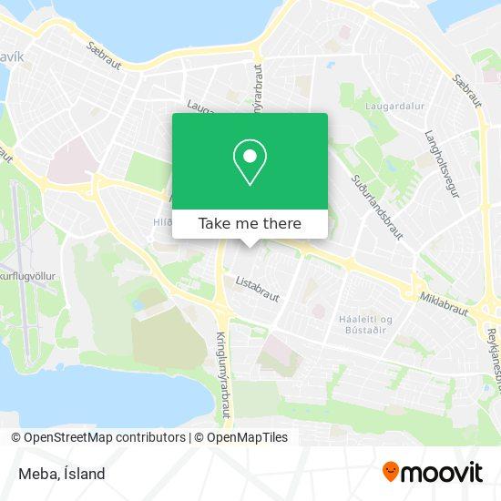 Meba map