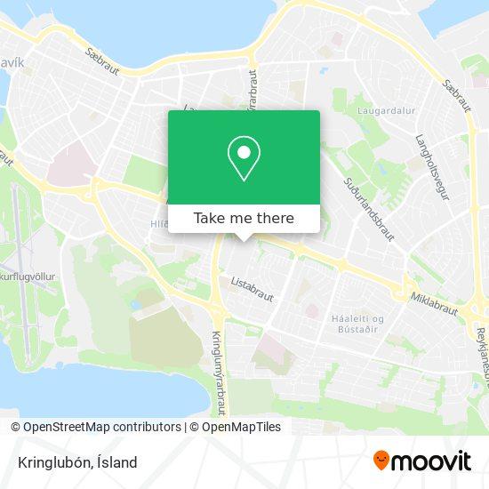 Kringlubón map