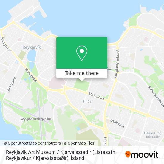 Reykjavik Art Museum / Kjarvalsstadir (Listasafn Reykjavíkur / Kjarvalsstaðir) map