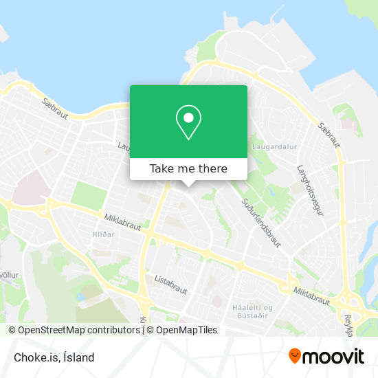 Choke.is map
