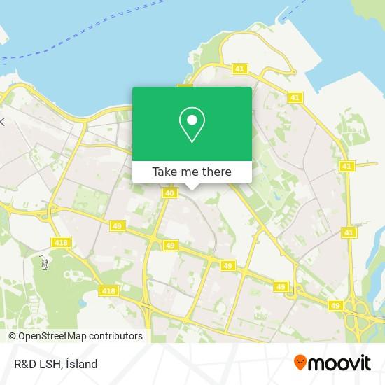 R&D LSH map