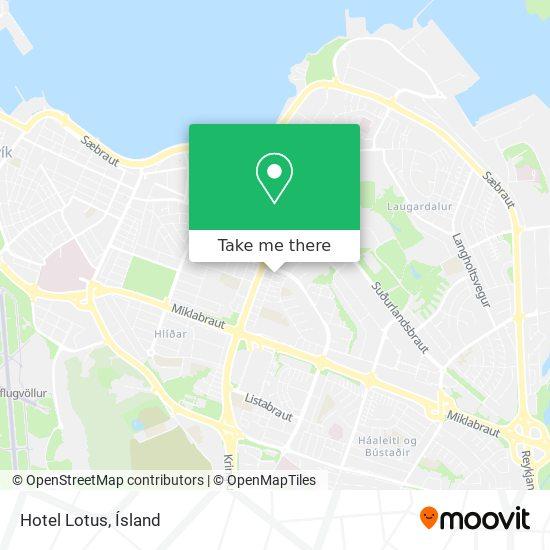 Hotel Lotus map
