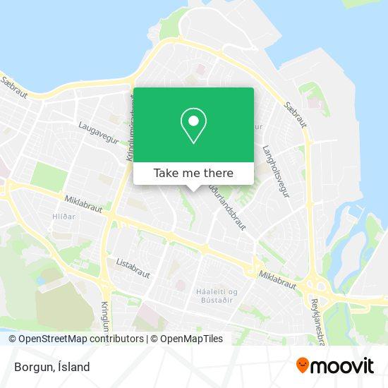 Borgun map