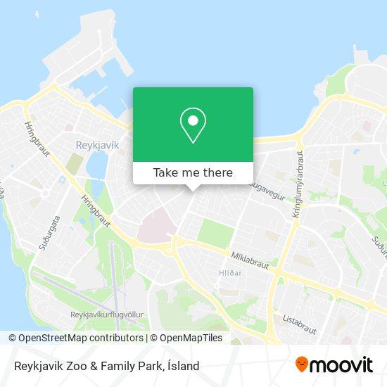 Reykjavik Zoo & Family Park map