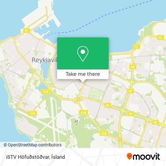 iSTV Höfuðstöðvar map