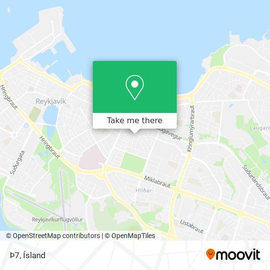 Þ7 map