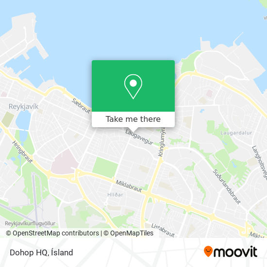 Dohop HQ map