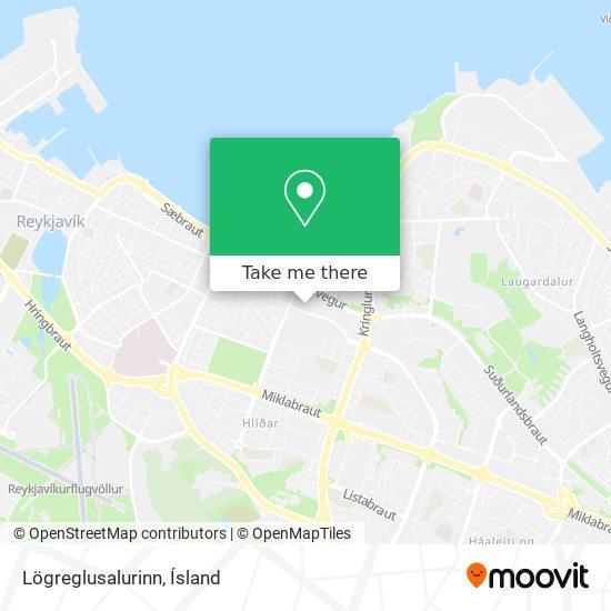 Lögreglusalurinn map