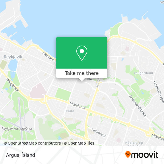 Argus map