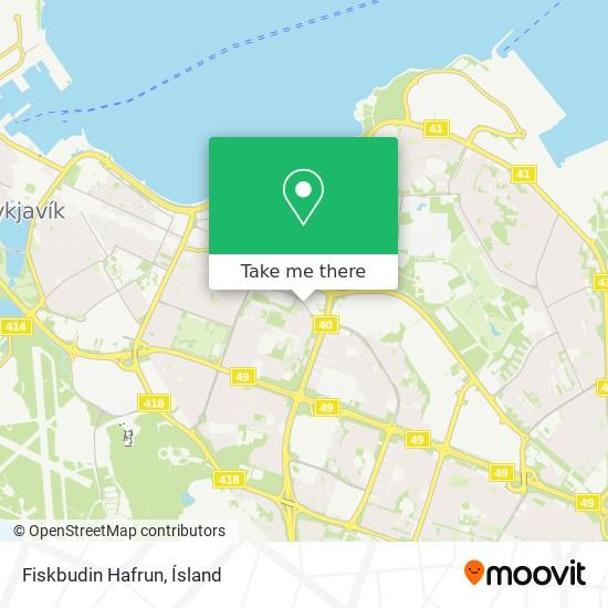 Fiskbudin Hafrun map