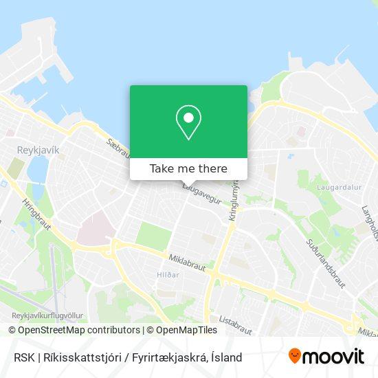 RSK   Ríkisskattstjóri / Fyrirtækjaskrá map