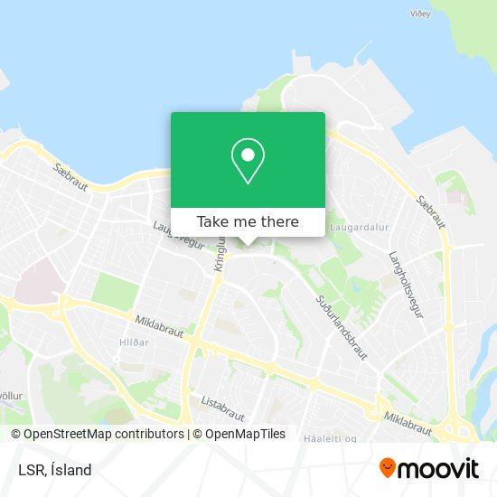 LSR map