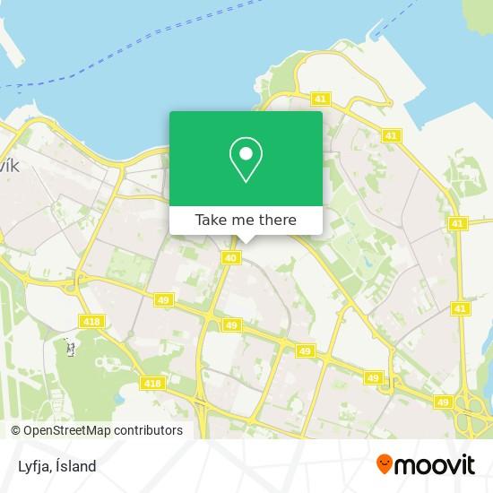 Lyfja map