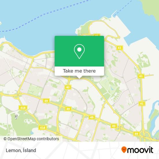 Lemon map