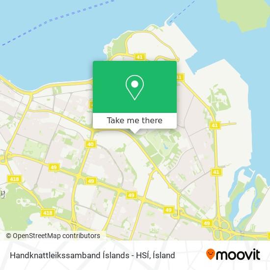 Handknattleikssamband Íslands - HSÍ map