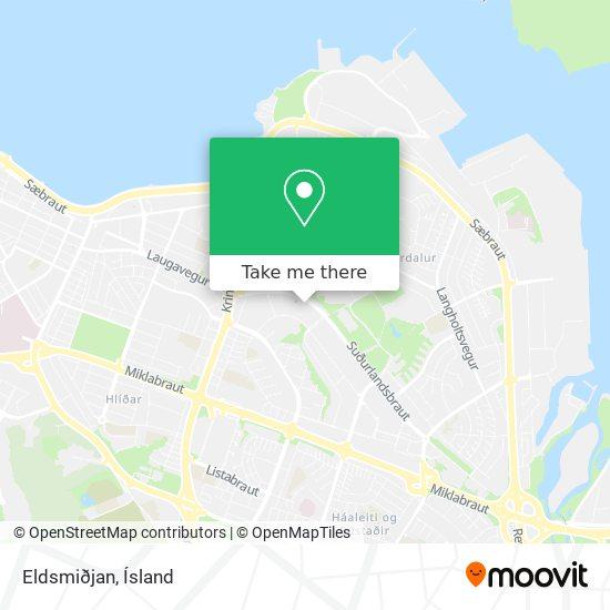 Eldsmiðjan map