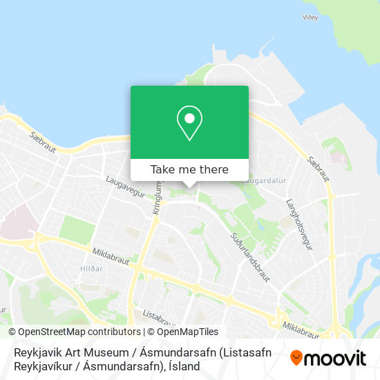 Reykjavik Art Museum / Ásmundarsafn (Listasafn Reykjavíkur / Ásmundarsafn) map