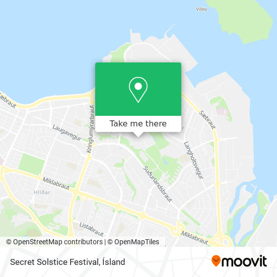 Secret Solstice Festival map