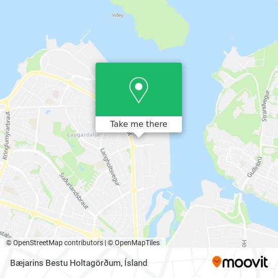 Bæjarins Bestu Holtagörðum map