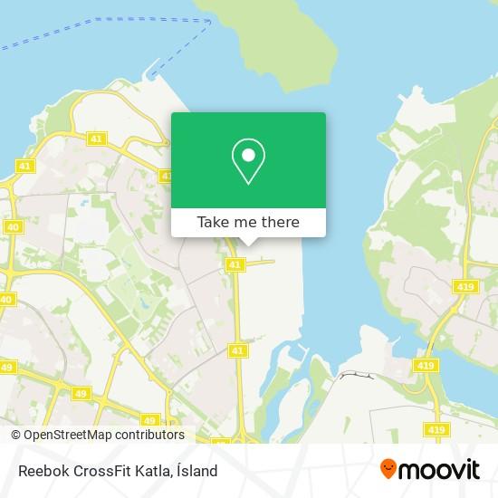 Reebok CrossFit Katla map