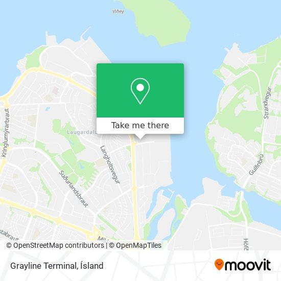 Grayline Terminal map