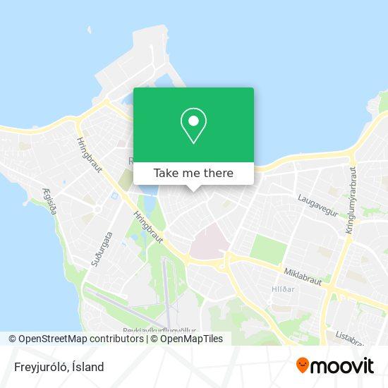 Freyjuróló map