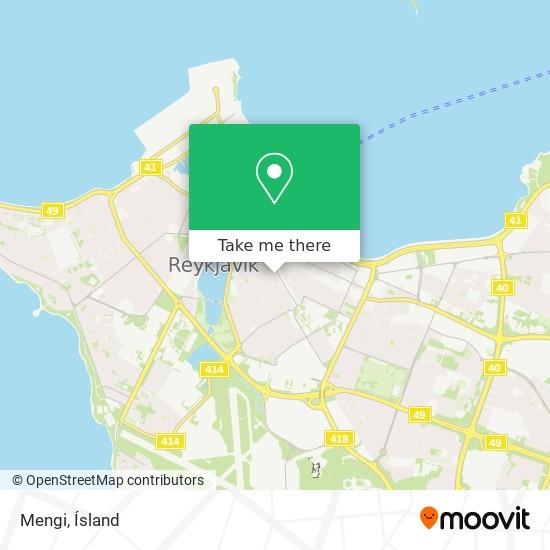 Mengi map