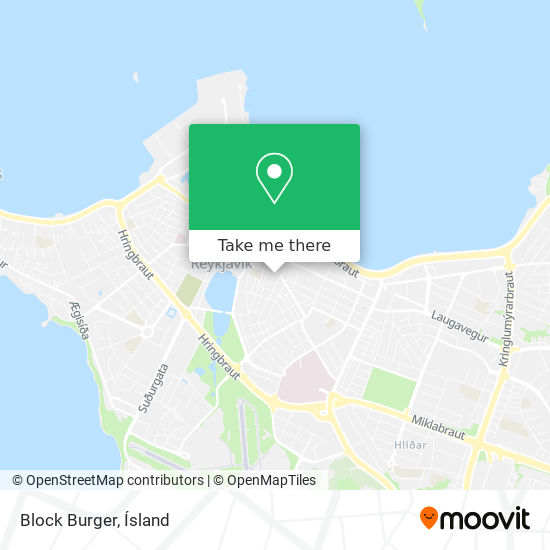 Block Burger map