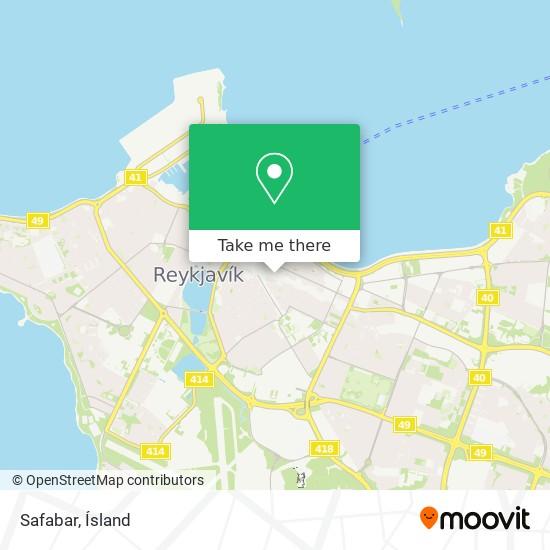 Safabar map