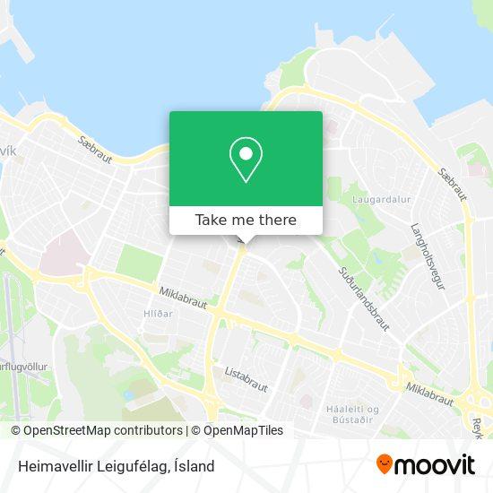 Heimavellir Leigufélag map