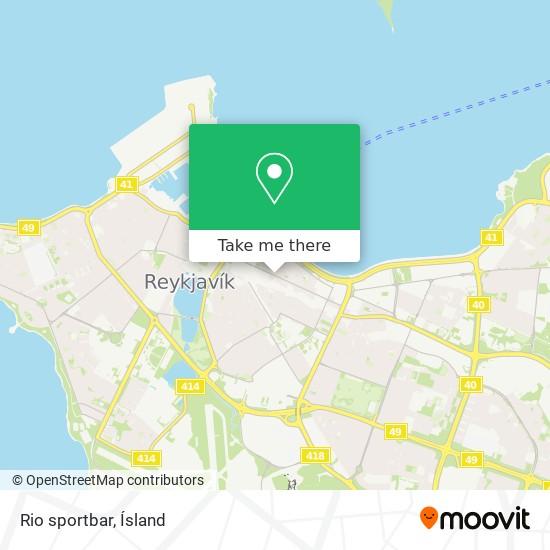 Rio sportbar map