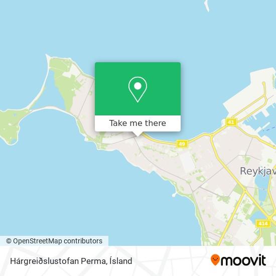Hárgreiðslustofan Perma map