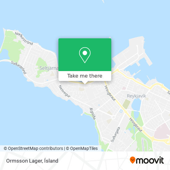 Ormsson Lager map