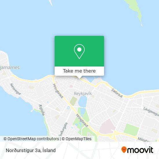 Norðurstígur 3a map