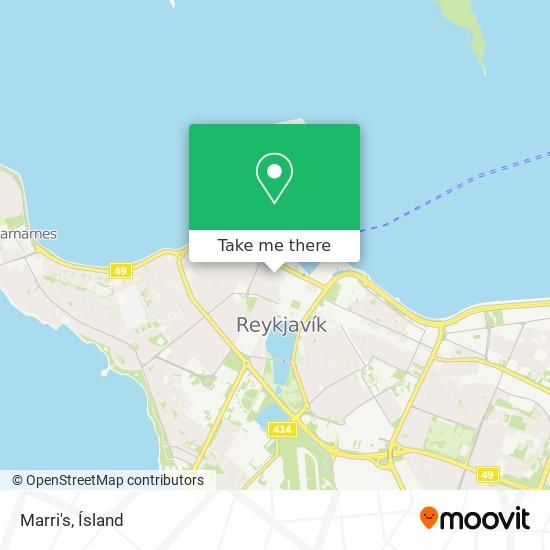 Marri's map