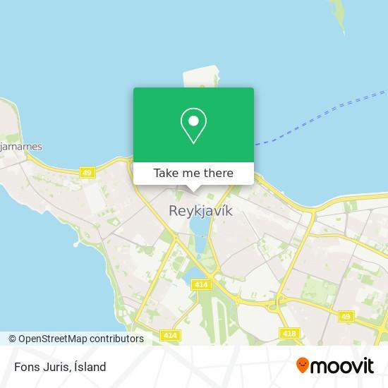 Fons Juris map