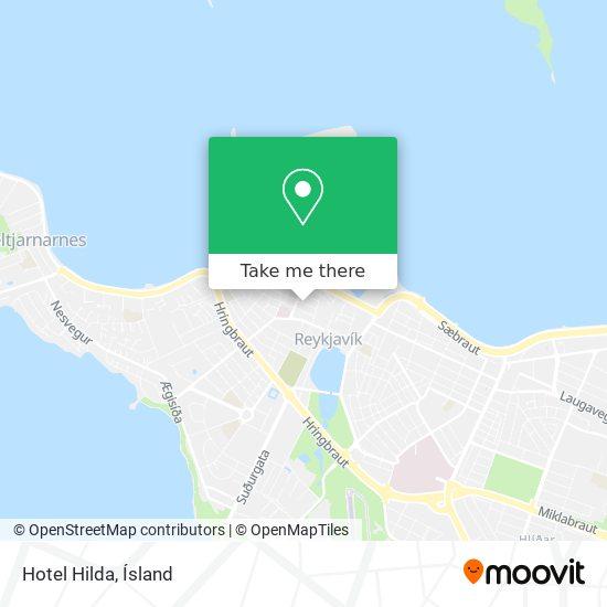 Hotel Hilda map