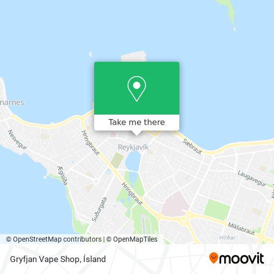 Gryfjan Vape Shop map