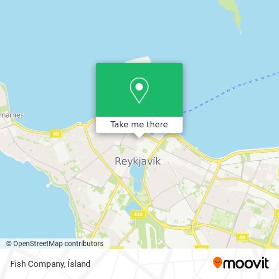 Fish Company map
