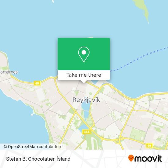 Stefan B. Chocolatier map