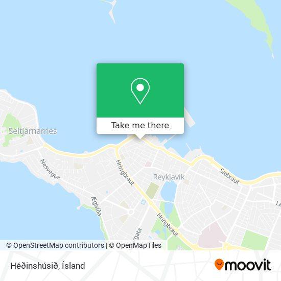 Héðinshúsið map