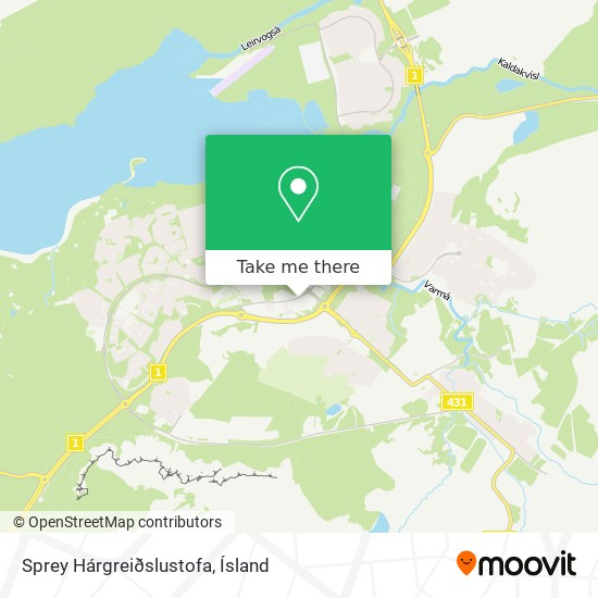 Sprey Hárgreiðslustofa map
