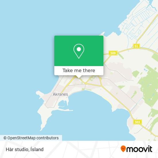 Hàr studio map