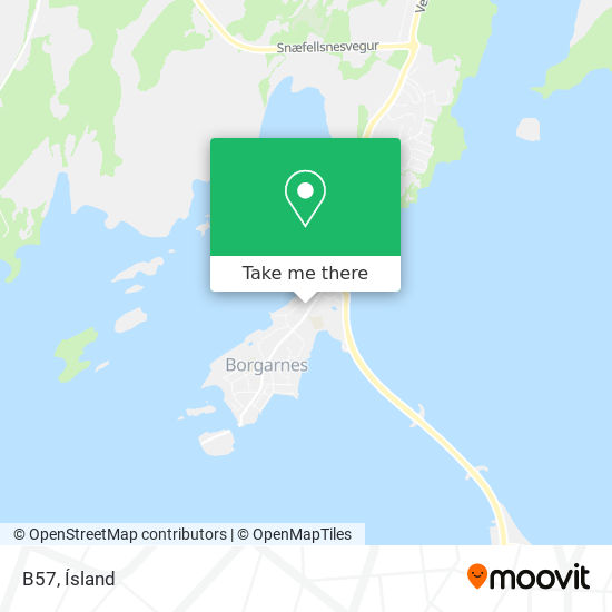 B57 map