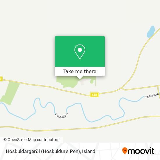 Höskuldargerði (Höskuldur's Pen) map