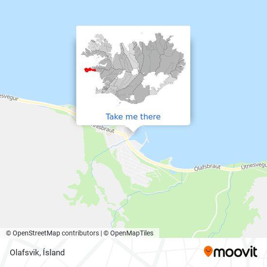 Olafsvik map