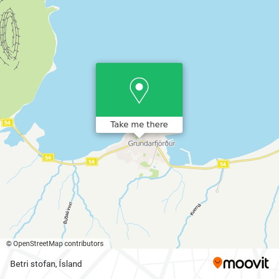 Betri stofan map