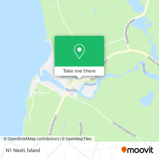 N1 Nesti map
