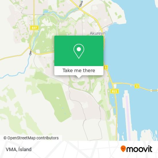 VMA map